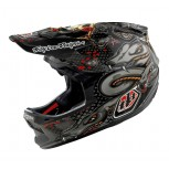 Casco Troy Lee D3 Medusa Black Carbon