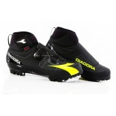Zapatillas Diadora Invierno MTB Polarex Plus Negro/Fluo