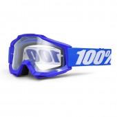 Googles 100% Accuri Reflex Blue (Lente Espejo)